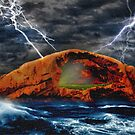 Peace in the Cleft in the Midst of the Storm by ChasSinklier
