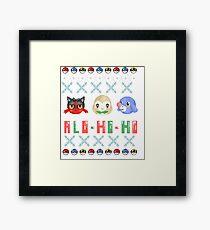 Alo-ho-ho Framed Print