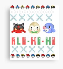 Alo-ho-ho Canvas Print