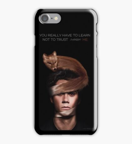 stiles stilinski void teen wolf iPhone Case/Skin