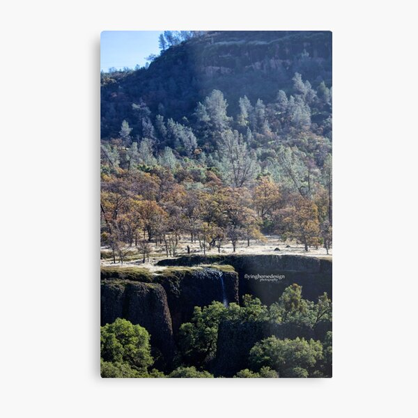 subtle water fall Metal Print