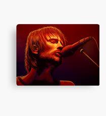 Thom Yorke of Radiohead Painting Canvas Print