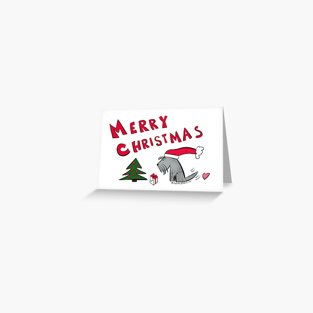Jack - Merry Christmas Greeting Card