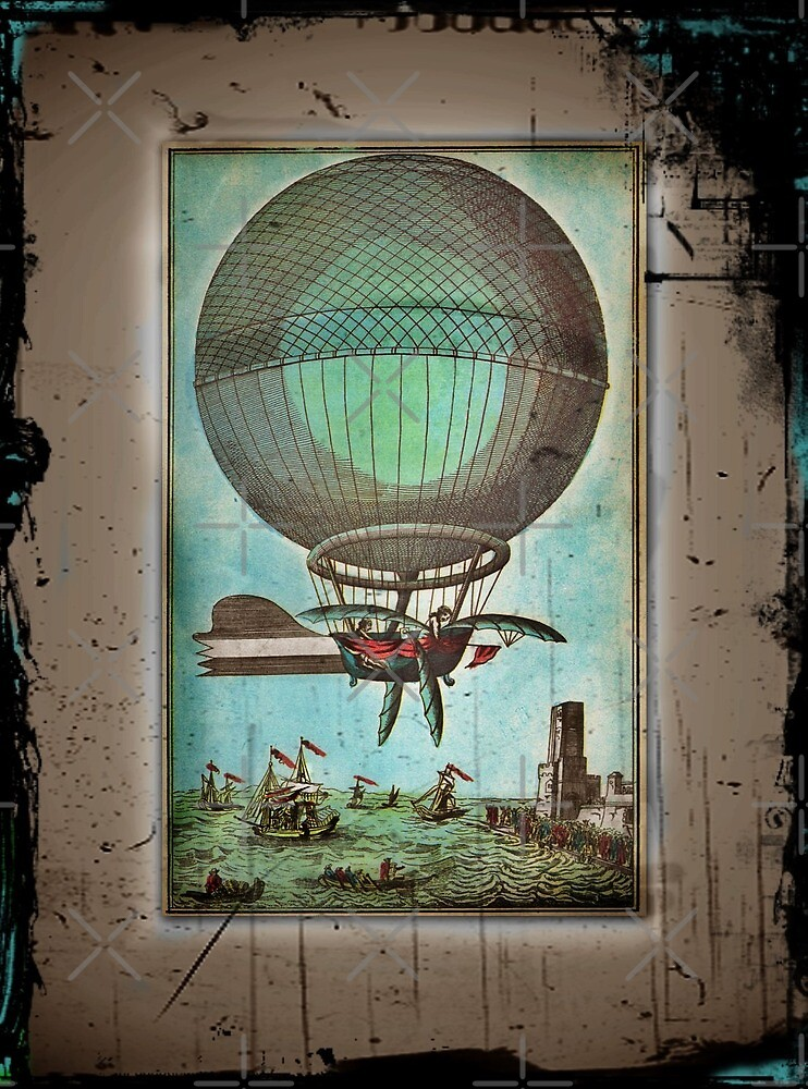 Hot Air Balloon of the Future by diane  addis
