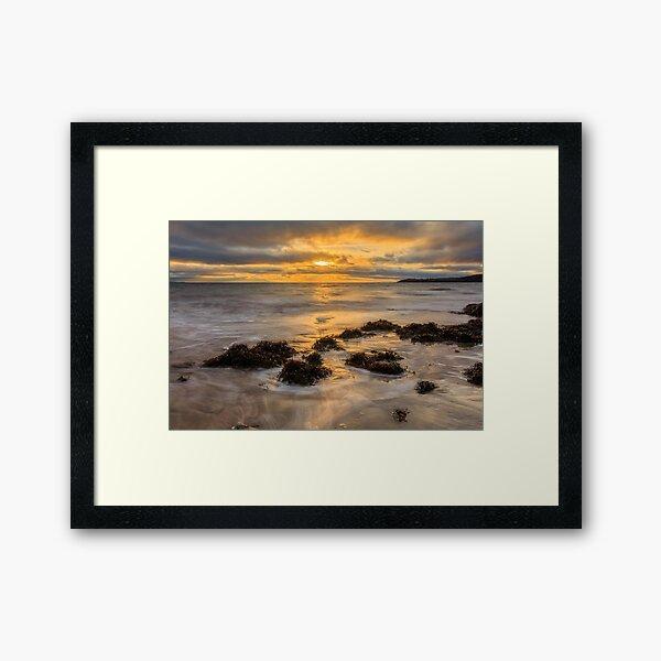 Mountcharles Sunset Framed Art Print