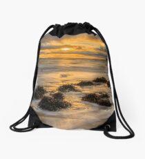 Mountcharles Sunset Drawstring Bag