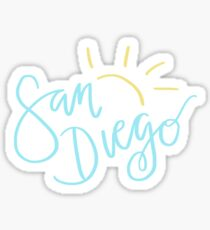 San Diego Sticker