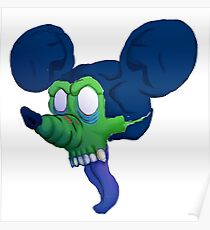 Zombie Mickey Poster