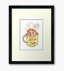 Ginger Coffee Mug Framed Print