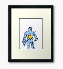 Jason Wins NES Framed Print