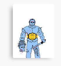 Jason Wins NES Canvas Print