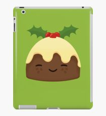 Cute Christmas Pudding iPad Case/Skin