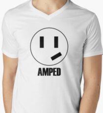 Amped - grinning plug Men's V-Neck T-Shirt