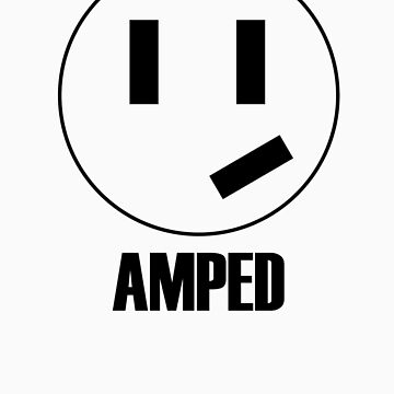 Amped - grinning plug by carvnmarvn