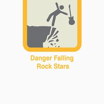 Fallling rock stars by carvnmarvn