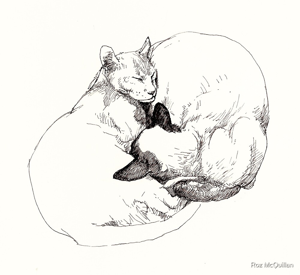 Chinky and Chang ~ Yin and Yang by Roz McQuillan