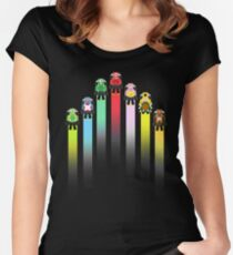 Classic Mario Kart Women's Fitted Scoop T-Shirt