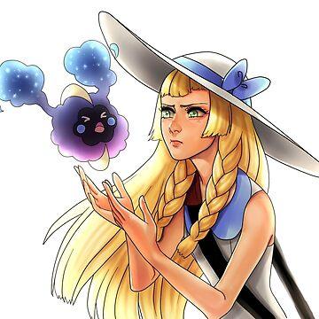 Pokemon - Lillie and Nebby by Roksva