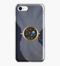 Little blue marble scarf ring iPhone Case/Skin