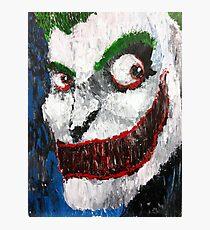 Palette Knife Joker Photographic Print