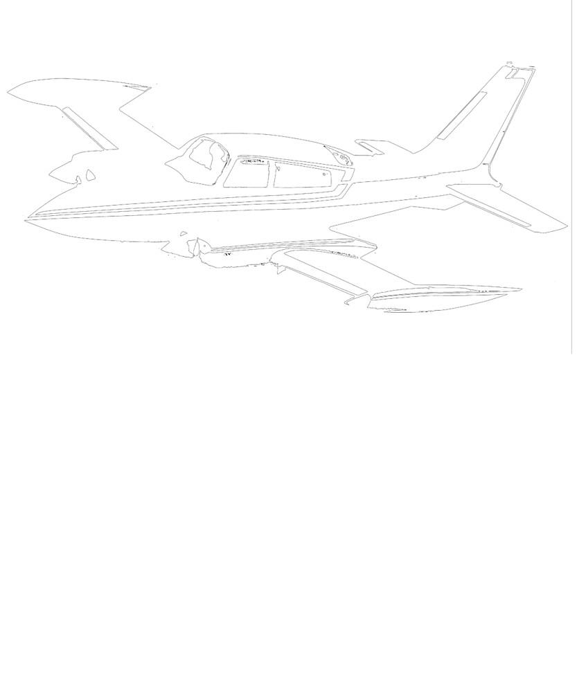 Cessna 310R T-Shirt by cranha