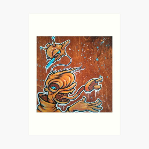 Static Age Art Print
