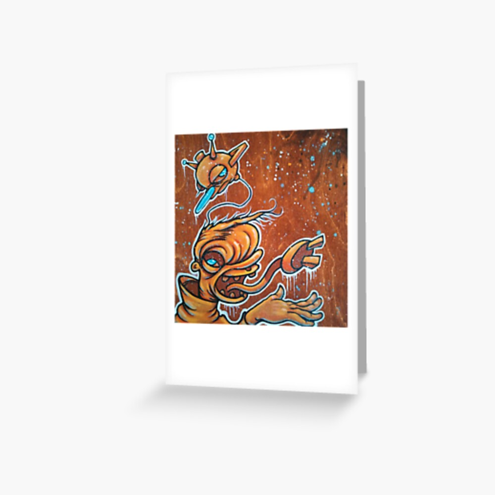 Static Age Greeting Card