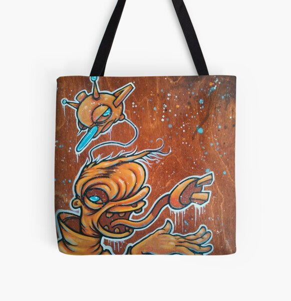 Static Age All Over Print Tote Bag