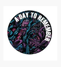 ADTR - A Day To Remember.  2 Fotodruck