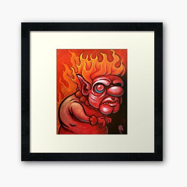 I'm the Heat Miser Framed Art Print