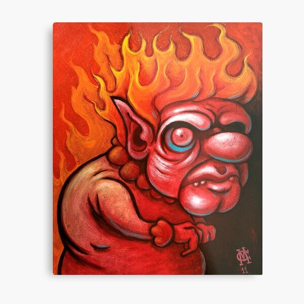 I'm the Heat Miser Metal Print