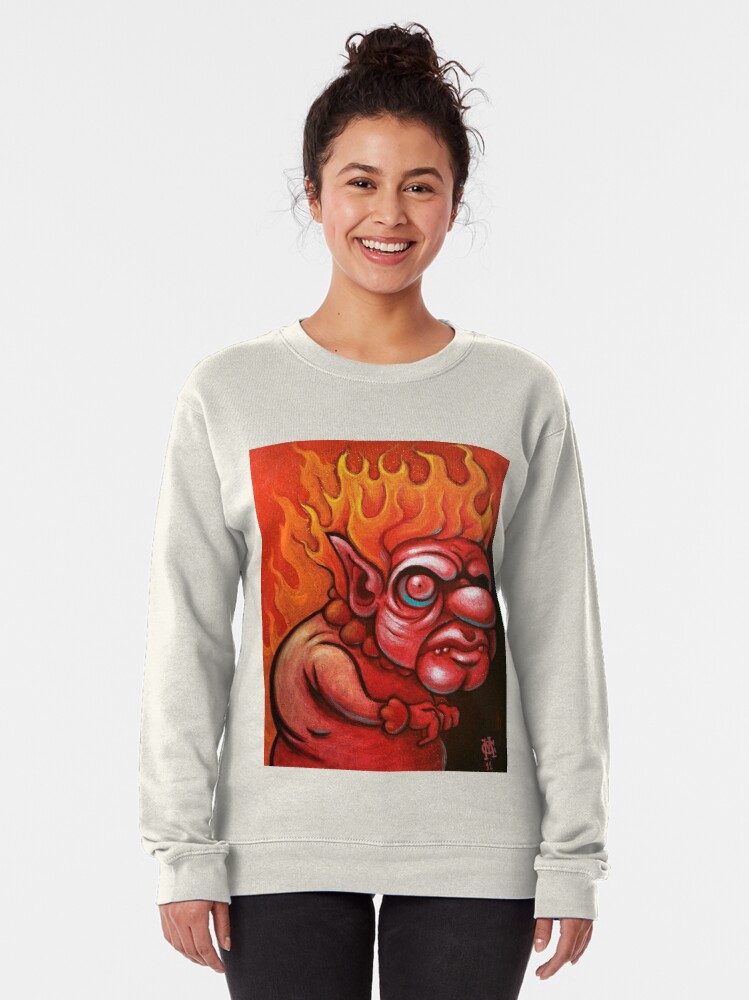 Alternate view of I'm the Heat Miser Pullover Sweatshirt