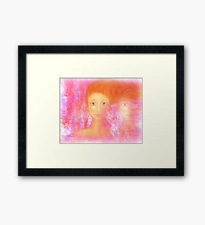 ...   Beauty is as deep as the Soul    ... Framed Print
