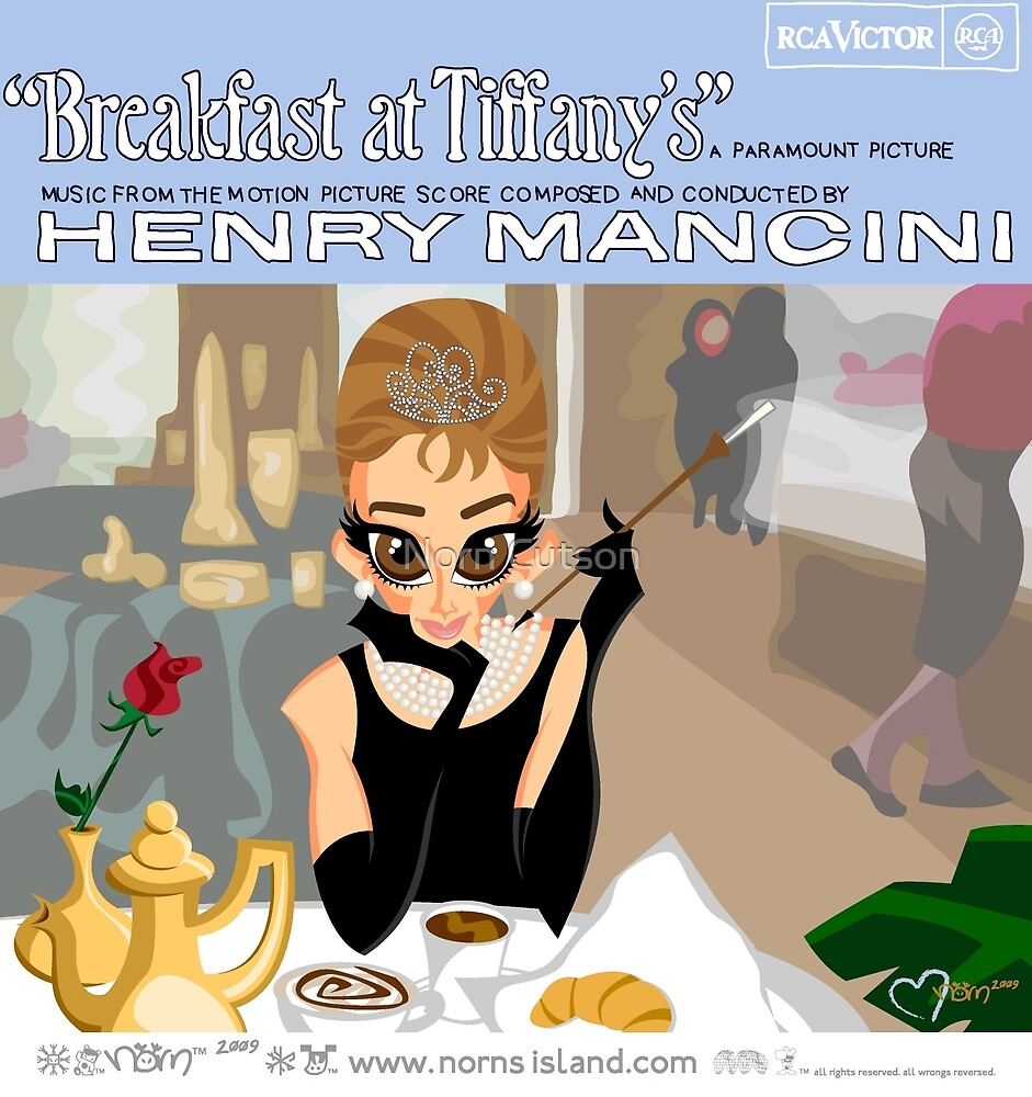 BREAKFAST AT TIFFANY'S by norncutson