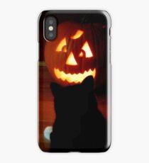 Halloween Stare Down (iPhone) iPhone Case/Skin