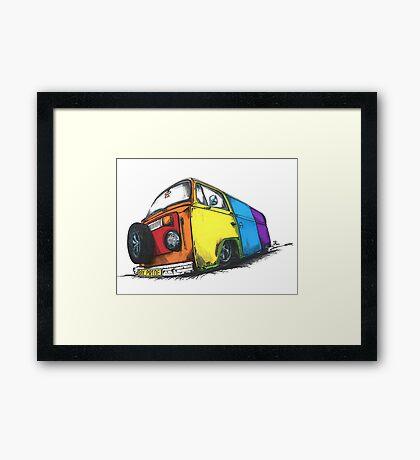 Bay Pride Framed Print