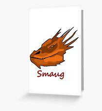 Smaug Greeting Card