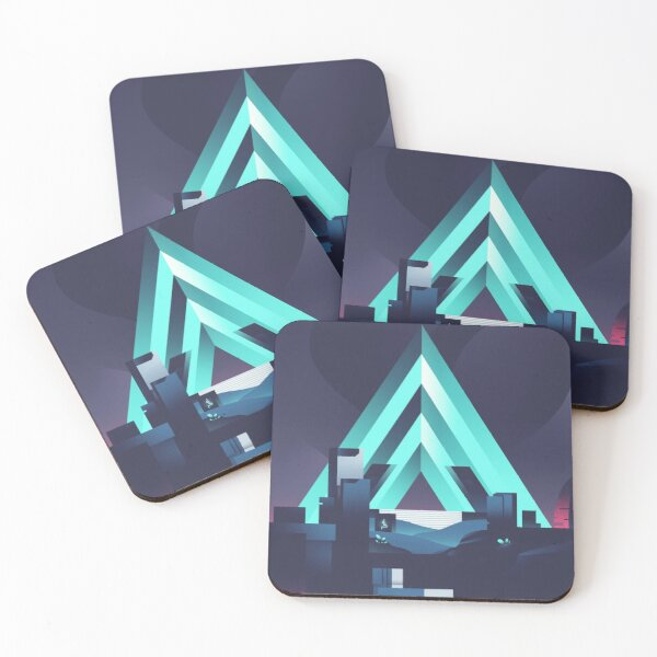 The Vault of Glass Coasters (Set of 4)