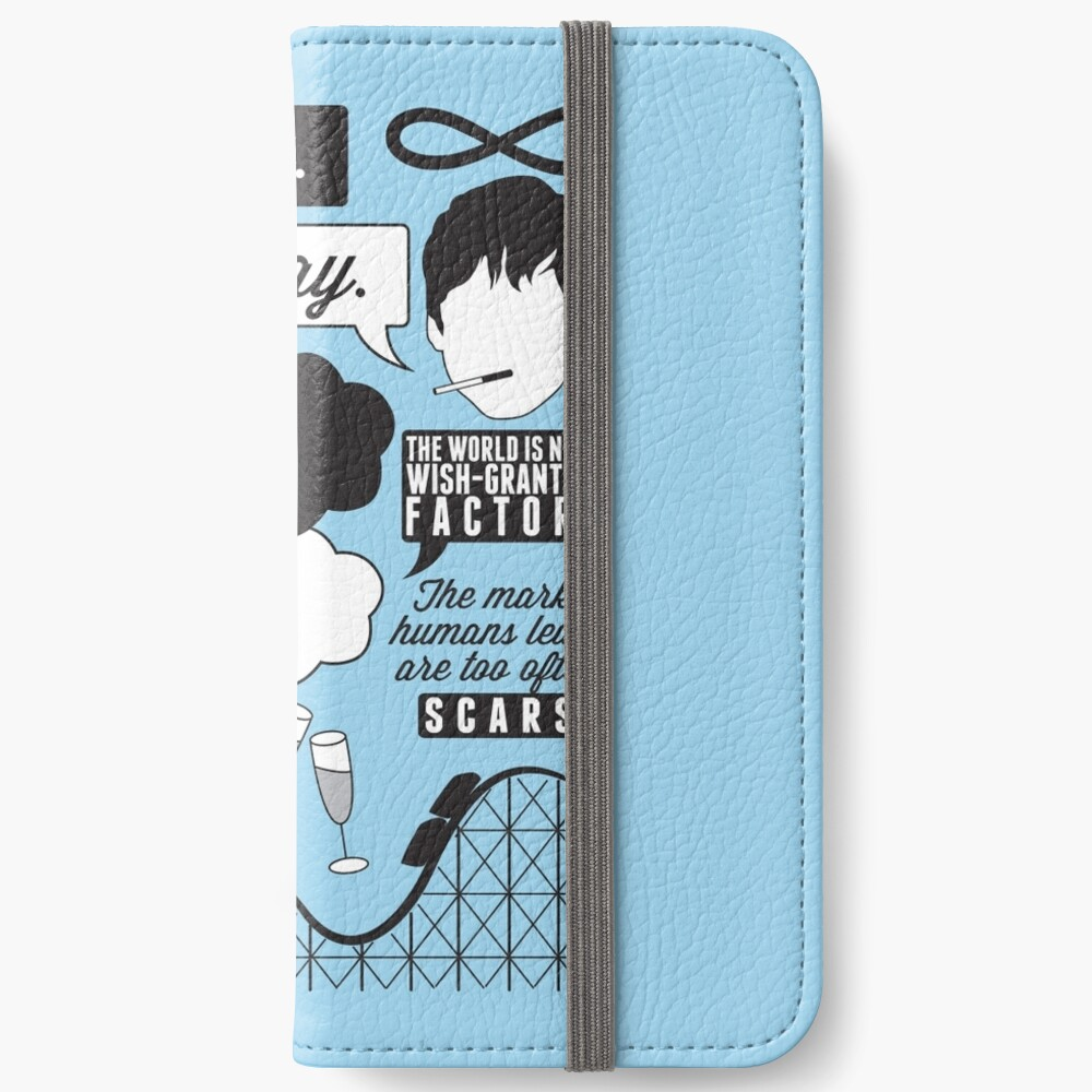 The Fault In Our Stars Collage iPhone Wallet