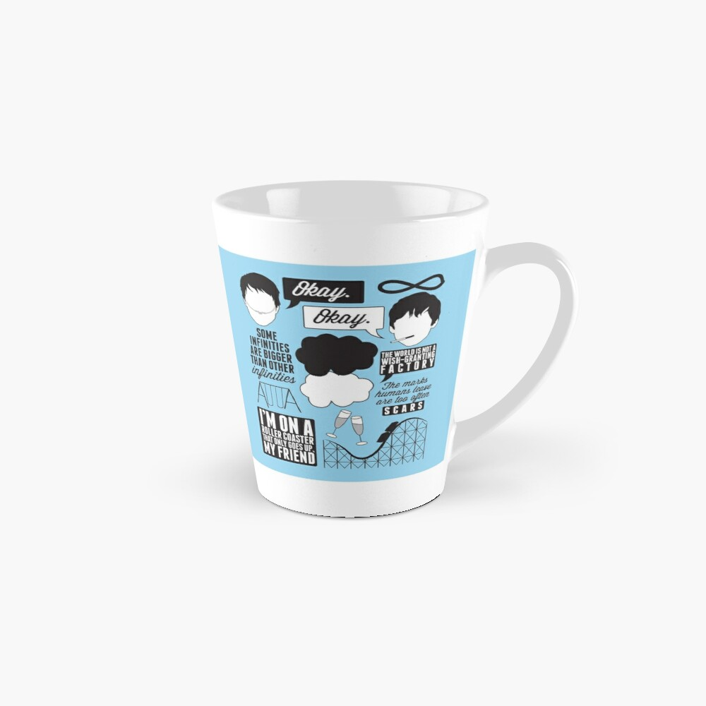 The Fault In Our Stars Collage Mug