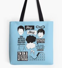 The Fault In Our Stars Collage Tote Bag