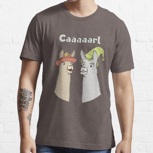Llamas with Hats - Caaaarl Essential T-Shirt