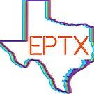 El Paso Texas Retro Neon Lights by CorrieJacobs
