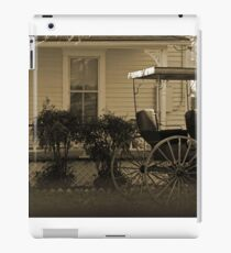 Old house and wagon iPad Case/Skin