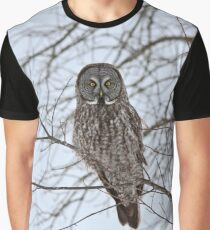 Great Gray Owl, your news and weather at 11 Graphic T-Shirt
