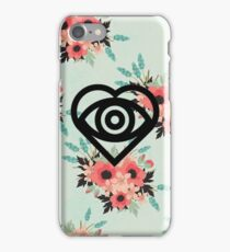 Floral Future Hearts #2 iPhone Case/Skin