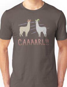 Llamas with Hats - Carl! Unisex T-Shirt