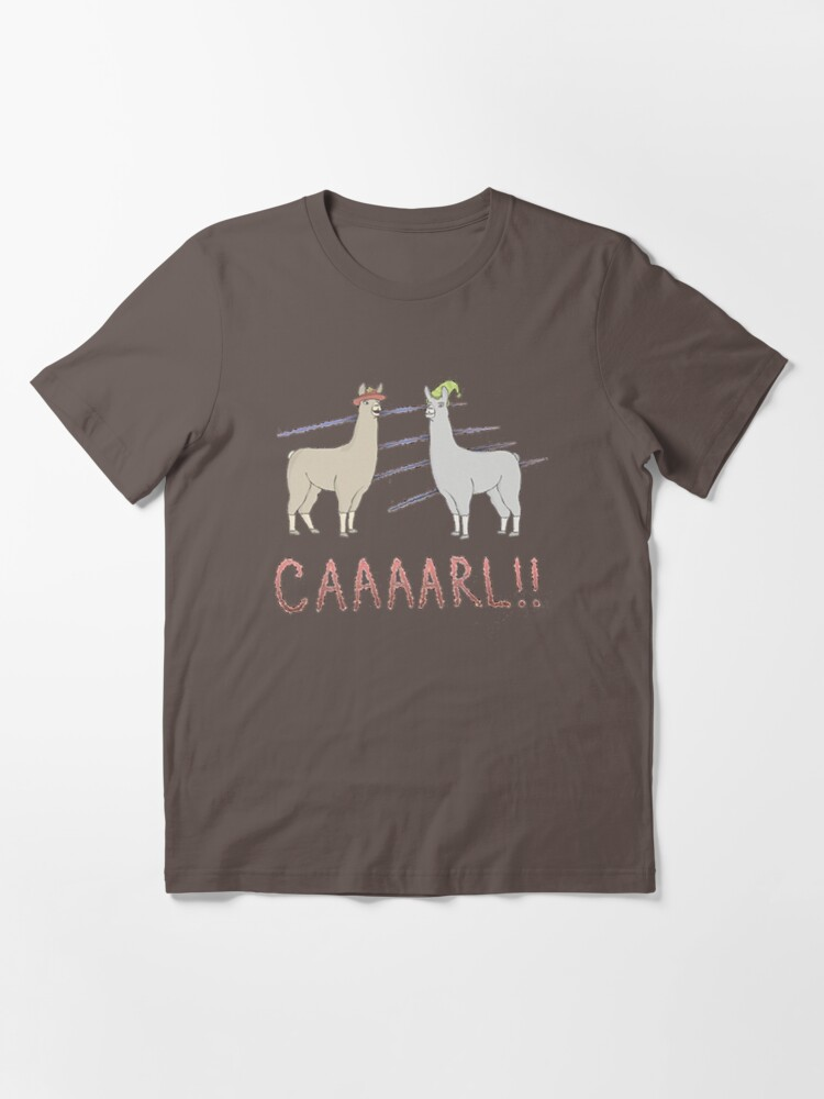 Alternate view of Llamas with Hats - Carl! Essential T-Shirt
