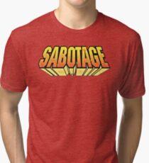 S.A.B.O.T.A.G.E (1994) Tri-blend T-Shirt