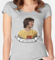 Adric design Fitted Scoop T-Shirt